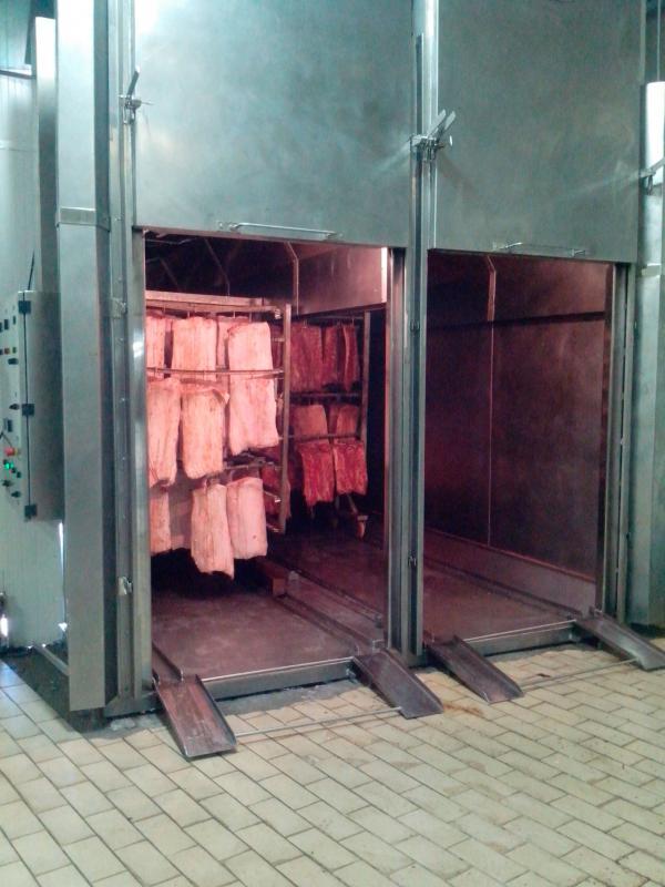 Estufa de cozimento e defumação