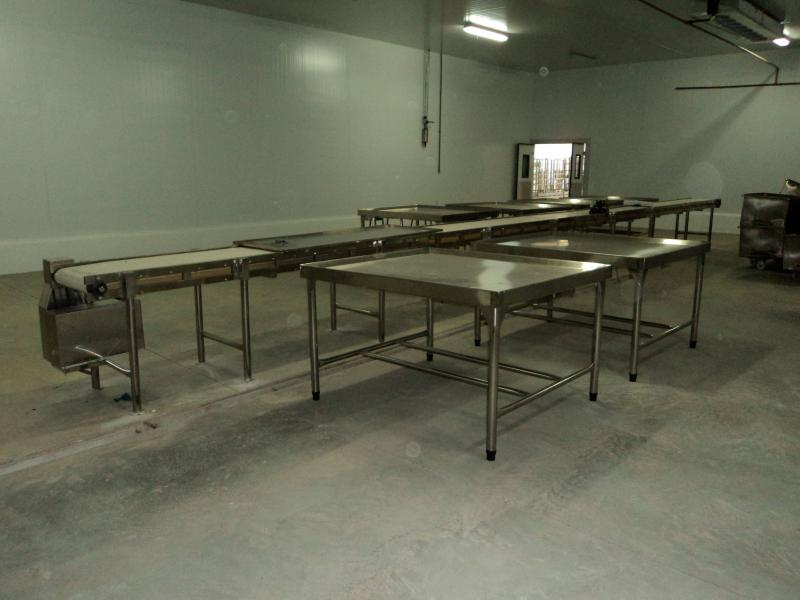 Mesa para cortar carne